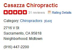 Check out Casazza Chiropractic on Yelp!