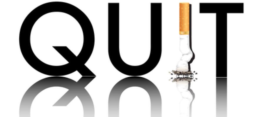 Quit smoking reflected