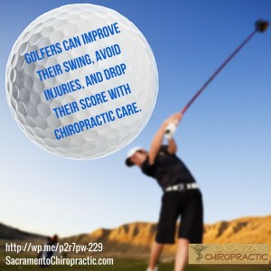 Golfers can improve their swing, avoid injuries, and drop their scores with chiropractic care.